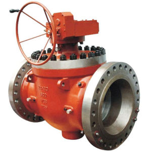 800lb Cast Steel Wcb Fixed Ball Valve