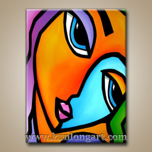 Handmade Abstract Contemporary Modern Pop Art Painting Klsjpa 0002