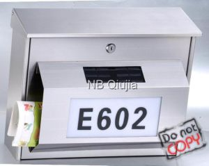 Stainless Steel Mailbox (QJ-020)