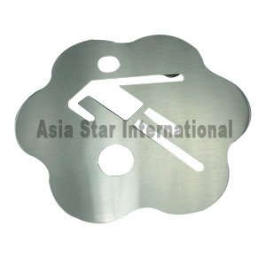 Plum Blossom Shaped Sporter Stainless Steel Coaster (SSC12) pictures & photos
