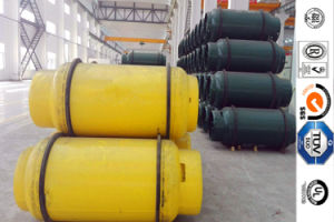 840L and 12mm Thickness Refillable Steel Gas Cylinder for Bromomethane