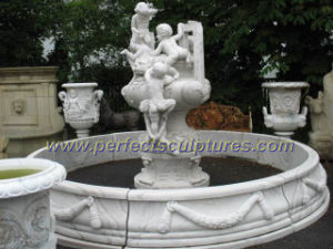 Stone Garden Fountain with Marble Fountain (SY-F162) pictures & photos