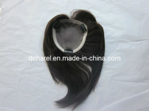100% Human Virgin Hair Toupee for Women pictures & photos