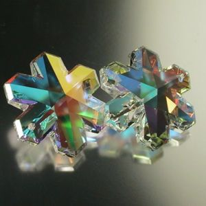 AB Color Crystal Snowflake -Crystal Jewelry Bead (TL09080336)