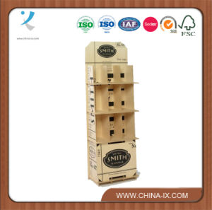 Retail Wooden Display Stand for Wine pictures & photos