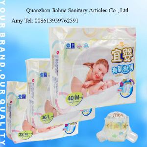 Non Woven Sleep Baby Diapers (JHS007) pictures & photos