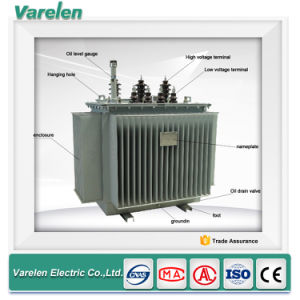 Outdoor Oil Immersed Power 33kv Power Transformer