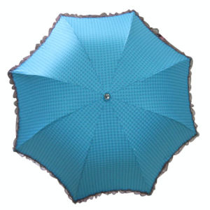 3 Fold Lady Umbrella with Lace Border (3FU013) pictures & photos