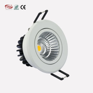 Recessed LED Downlight COB 7W with Ce, RoHS, SAA, EMC, LVD Certification pictures & photos