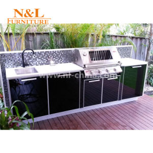 China N L Stainless Steel Modular Kitchen Portable Outdoor Kitchen