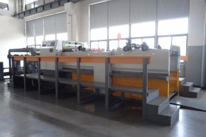 Servo Control Automatic Roll Duplex Paper Board Sheeter pictures & photos