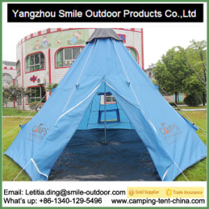 Double Decker Chinese Picnic Windproof Teepee Tent Kids pictures & photos