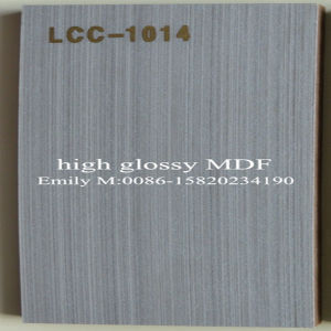 18 Wooden Wardrobe Door Material Lcc Glossy MDF (LCC-1013) pictures & photos