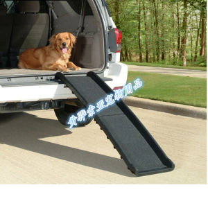 China Plastic Pet Car Ramp For Dog To Climb Up To The Car From The