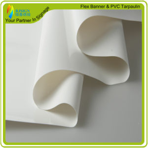 PVC White Tarpaulin Can Be Printable Material pictures & photos