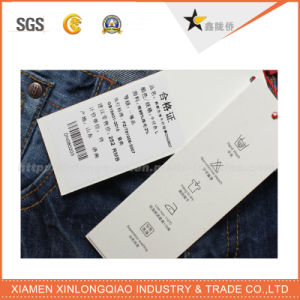 Hot Sale Best Price Factory Direct Hang Tag for Jeans pictures & photos