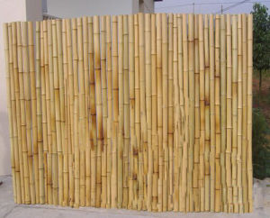 Artificial Colored Fire Retardant Bamboo Fence