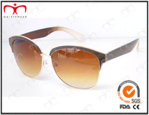 Fashionable Hot Selling UV400 Protection Metal Sunglasses (KM15025) pictures & photos