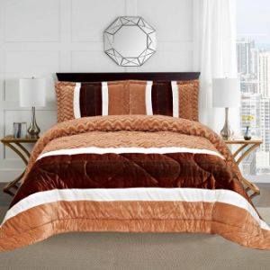 Classic Luxury Patchwork Quilt Bedding Set (NA1423-9)