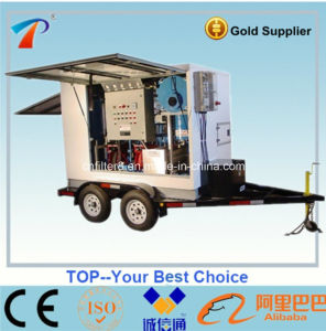 Trailer Outdoor Type Turbine Lubricating Oil Filtration System (TY-200) pictures & photos