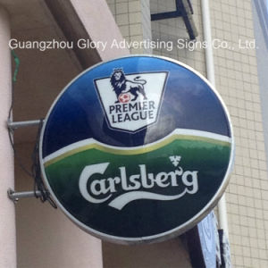 Outdoor Advertising LED Light Box/ Hanging Wall Beer Light Box pictures & photos