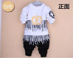 d18c140eb Ks1093 Spring Autumn Baby Boys Sport Suit Set Long Sleeve Letters Children  Sets Round Neck Shirt