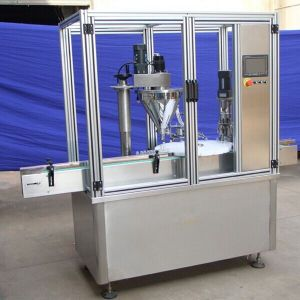 Ylg-C6a Powder Auger Filling and Capping Machine pictures & photos