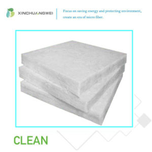 Fiberglass Insulation Glass Wool Blanket Environmental Friendly White Glass  Wool