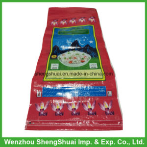 25kg PP Rice Bag with BOPP Laminated Colorful Printing
