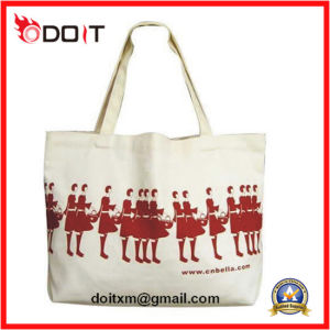 Leisure Carrier Travel Hand Handle Lady Canvas Bag pictures & photos