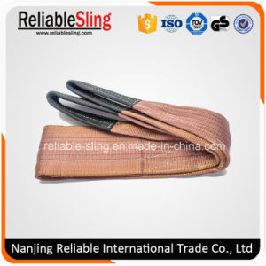 Ce Duplex Polyester Eye and Eye Crane Lifting Webbing Strap pictures & photos