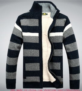 Men′s Cardigan Sweater Knitwear (0116) pictures & photos