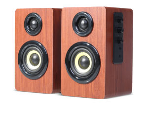 2015 New Speaker: Excellent Driver Unit Powerful 2.0 CH Wood High-End Multimedia Speaker of Good Price in China (R235)