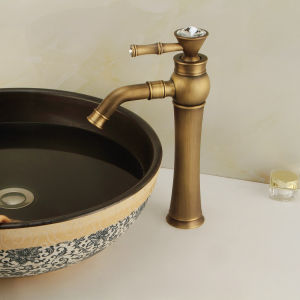 New Model Bronze Wash Basin Faucet (6006) pictures & photos