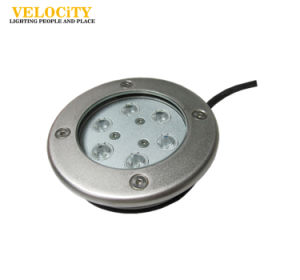 DC24V 6PCS 6W/12W Stainless Steel RGB LED Underwater Fountain Light
