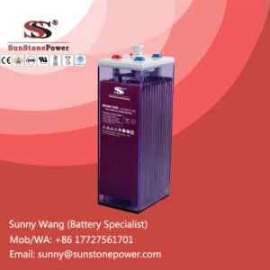 Deep Cycle Flooded Lead Acid Solar Batteries 2V 1200ah OPzS Battery