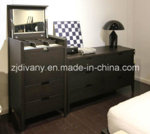 European Style Wooden Furniture Bedroom Wooden Cabinet (SM-D34) pictures & photos