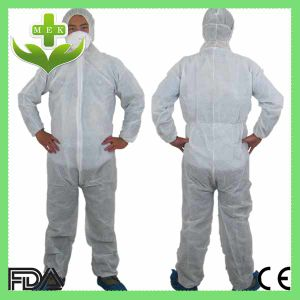 Xiantao Hubei MEK Disposable Non Woven Coverall pictures & photos