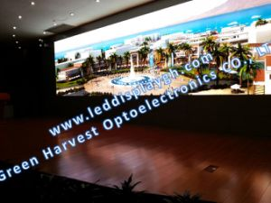 P2.6 mm indoor 500X500mm die-casting cabient rental LED display pictures & photos