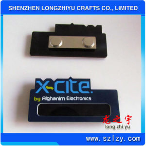 Wholesale Metal Name Brand Tag with Printing Logo and Magnet pictures & photos