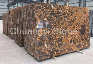 Chinese Overlord Flower Marble Tile for Floor/Wall/Countertop/Bathroom/Interior Decoration