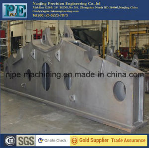 Big Steel Bracket Sheet Metal Fabrication