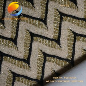 PU Leather for Shoes Bags, Glitter Effect pictures & photos