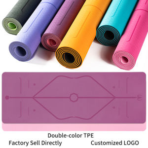 China Wholesale Cheap High Density Tpe Pilate Exciese Yoga Mat China Pilate Exciese Yoga Mat And Tpe Pilate Exciese Yoga Mat Price