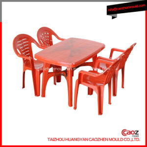 Plastic Injected Arm Chair/Rectangular Table Mould