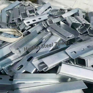 Hot Dipped Galvanized Processing Punched and Drilled Beam Channel Iron