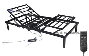 China Cheap Wholesale Electric Adjustable Metal Bed Frame Center