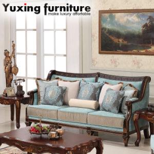 Living Room Sofa Antique Fabric