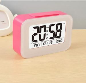 china promotional gifts desktop digital table alarm clock with