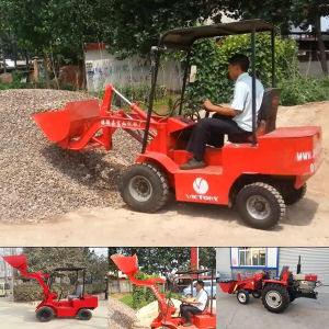 Wheel Loader Manufacture Electric Wheel Loader pictures & photos
